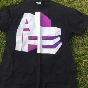 Black nice swag ALife tshirt hipster